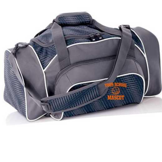 Basketball Embroidered Holloway League Duffel Bag