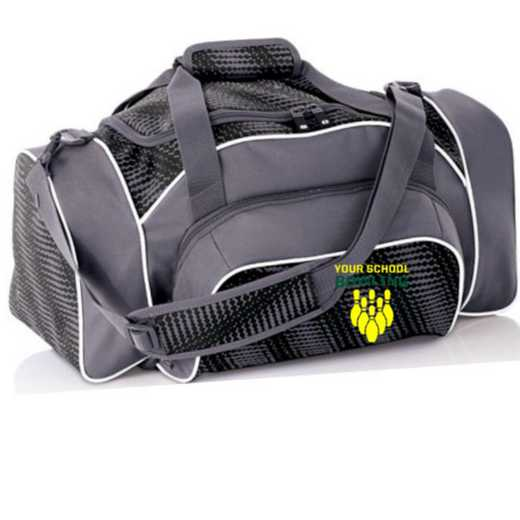 Bowling Embroidered Holloway League Duffel Bag