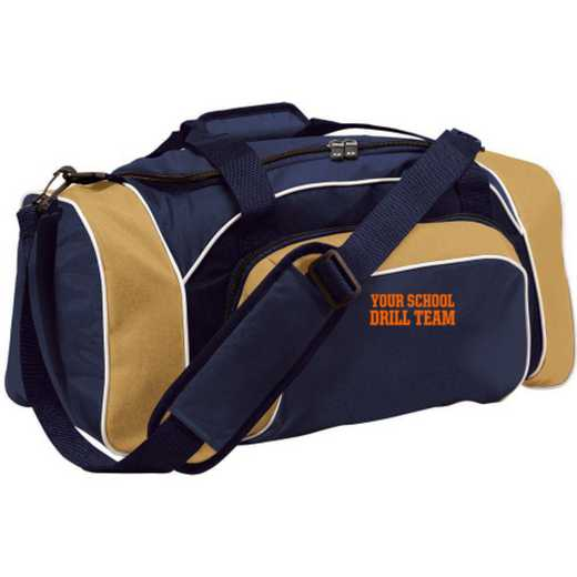 Drill Team Embroidered Holloway League Duffel Bag