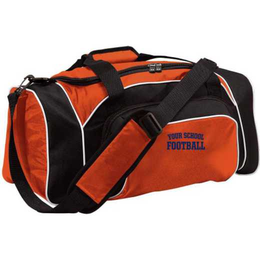 Football Embroidered Holloway League Duffel Bag