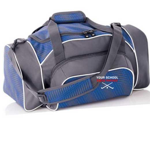 Field Hockey Embroidered Holloway League Duffel Bag