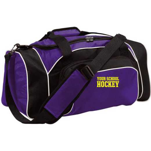 Hockey Embroidered Holloway League Duffel Bag