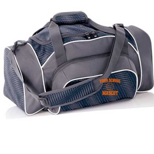 Volleyball  Embroidered Holloway League Duffel Bag