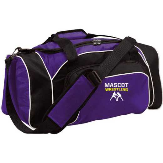 Wrestling Embroidered Holloway League Duffel Bag