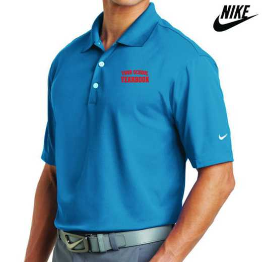 Yearbook Embroidered Nike Dri Fit Polo