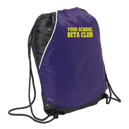 Beta Club Embroidered Cinch Pack