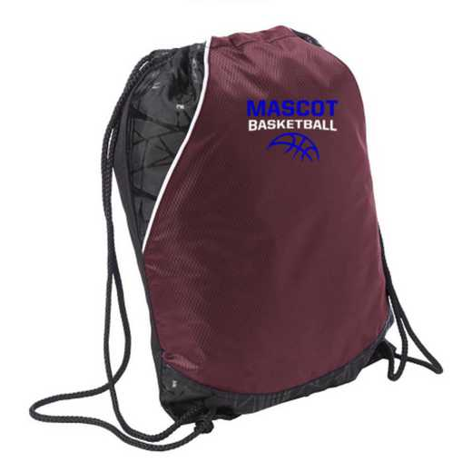 Basketball Embroidered Cinch Pack