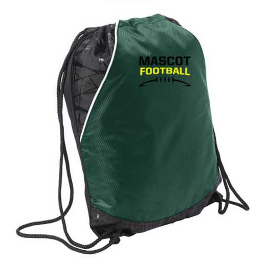 Football Embroidered Cinch Pack