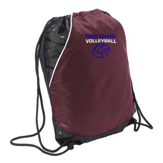 Volleyball  Embroidered Cinch Pack