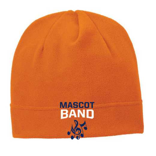 C900-BAND-OSFA: Band Embroidered Stretch Fleece Beanie