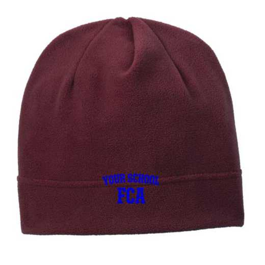 C900-FCA-OSFA: FCA Embroidered Stretch Fleece Beanie