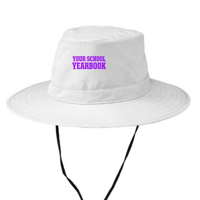 Embroidered Microfiber Bucket Hat