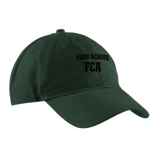 FCA Embroidered Brushed Twill Cap