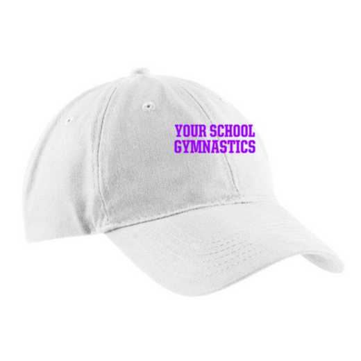Gymnastics Embroidered Brushed Twill Cap