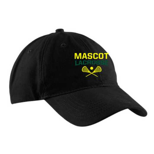 Lacrosse Embroidered Brushed Twill Cap