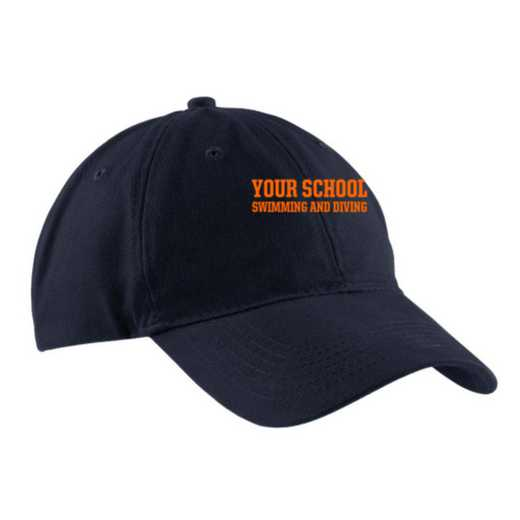 Swimming and Diving Embroidered Brushed Twill Cap
