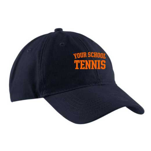 Tennis Embroidered Brushed Twill Cap