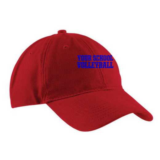 Volleyball  Embroidered Brushed Twill Cap