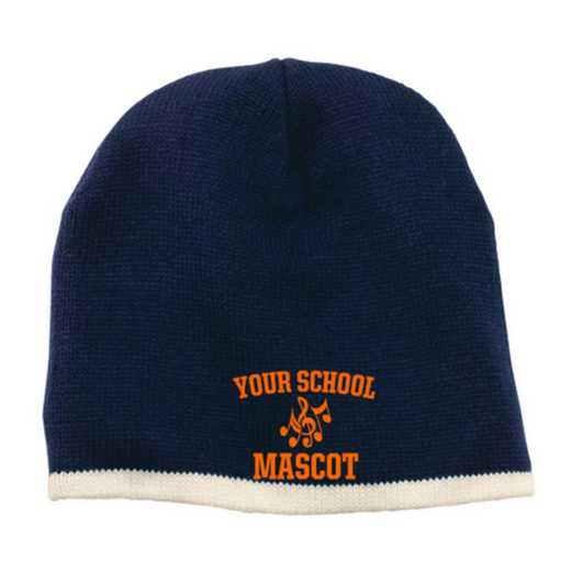 Choir Embroidered Knit Beanie Cap