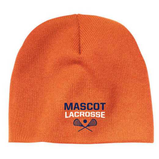 Lacrosse Embroidered Knit Beanie Cap