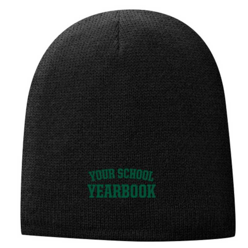 Embroidered Fleece Lined Beanie
