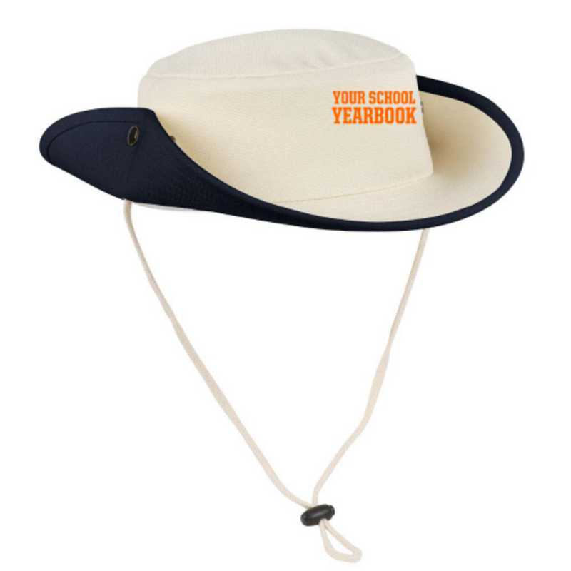 Embroidered Canvas Outback Hat