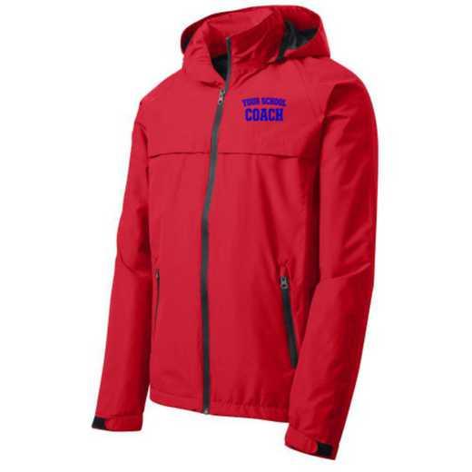 Coach Embroidered Waterproof Rain Jacket