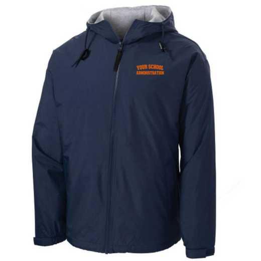 Administration Embroidered Nylon Team Jacket