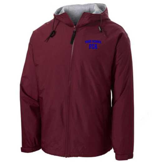FCA Embroidered Nylon Team Jacket