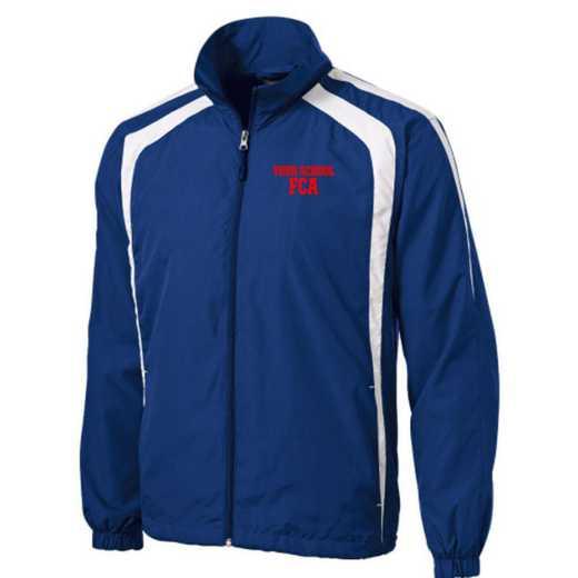 Men's FCA Embroidered Lightweight Raglan Jacket