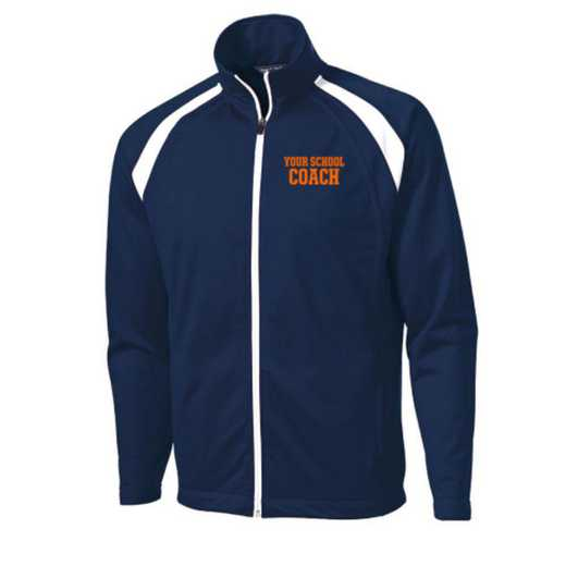 Men's Coach Embroidered Tricot Track Jacket
