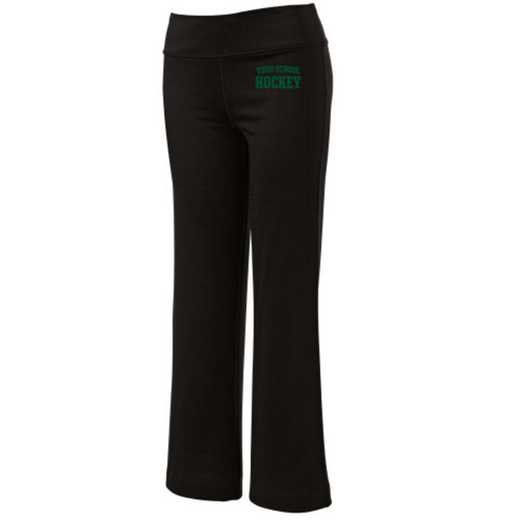 Hockey Embroidered Yoga Pants