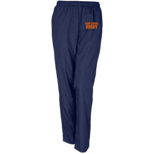 Rugby Embroidered Sport-Tek Womens Tricot Track Pant