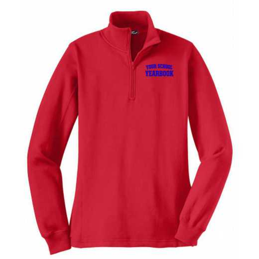 Women's Embroidered Sport-Tek Quarter Zip Sweatshirt
