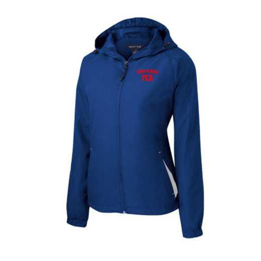 Women's FCA Embroidered Lightweight Hooded Raglan Jacket