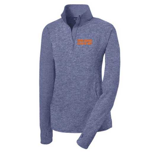 Class of  Sport-Tek Embroidered Womens Half Zip Stretch Pullover