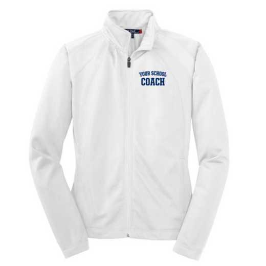 Coach Embroidered Womens Tricot Track Jacket