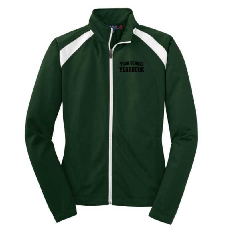 Women's Embroidered Tricot Track Jacket