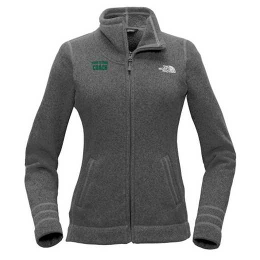Coach The North Face Ladies Sweater Fleece Jacket