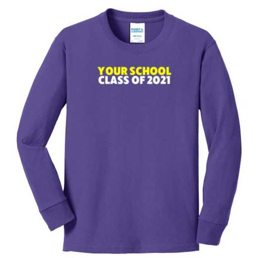 Class of  Youth Classic Fit Long Sleeve T-shirt
