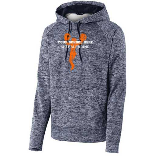 Cheerleading Sport-Tek Electric Heather Hooded Sweatshirt