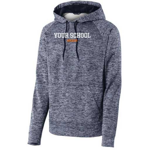 Sport-Tek Electric Heather Hooded Sweatshirt