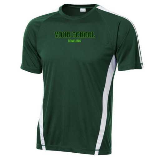 Bowling Sport-Tek Colorblock Competitor T-Shirt