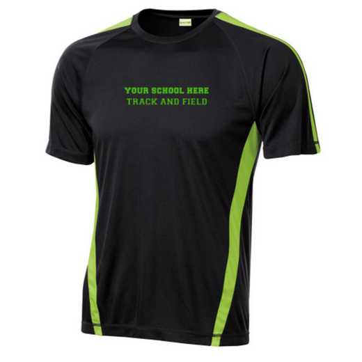 Track and Field Sport-Tek Colorblock Competitor T-Shirt