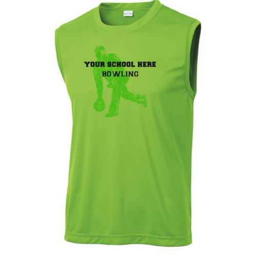 Bowling Sport-Tek Sleeveless Competitor T-shirt