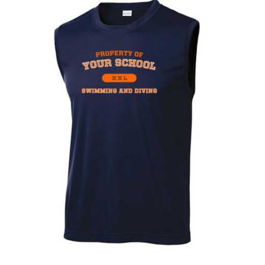Swimming and Diving Sport-Tek Sleeveless Competitor T-shirt