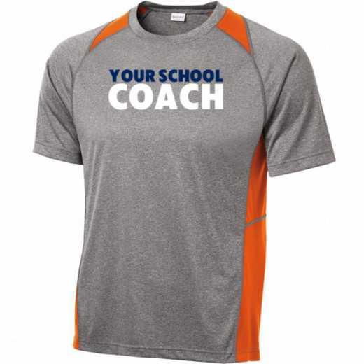 Coach Sport-Tek Heathered Short Sleeve Performance T-shirt