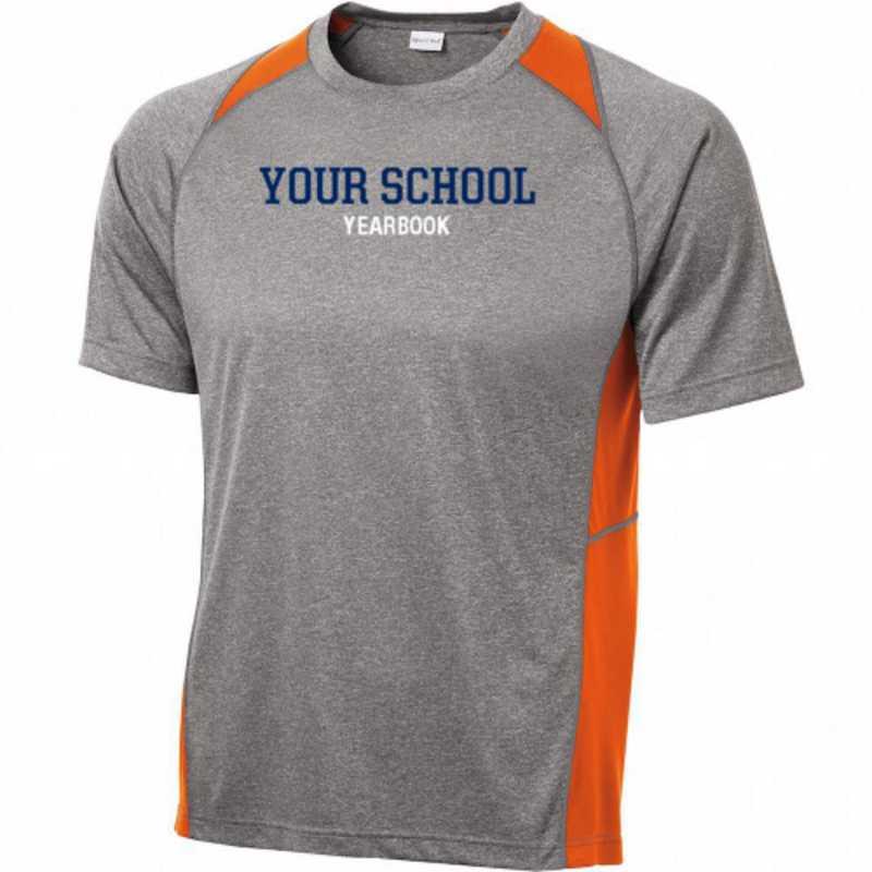 Sport-Tek Heathered Short Sleeve Performance T-shirt