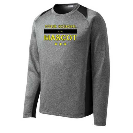 FCA Sport-Tek Vintage Heather Long Sleeve Competitor T-shirt