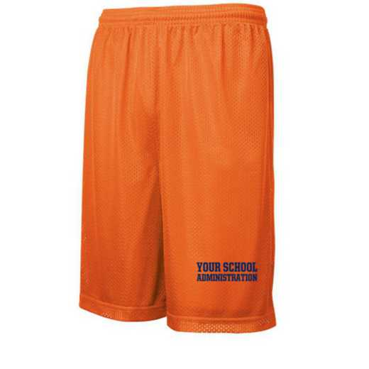 Administration Embroidered Sport-Tek 9 inch Classic Mesh Short